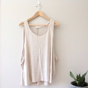 Forever 21 | oversized drop arm tank top, L